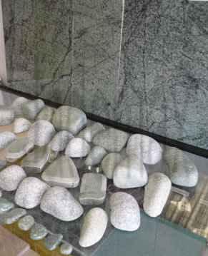 Массажный набор и плитка из жадеита